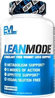 Evlution Nutrition Lean Mode - Complete Stimulant-Free Weight Loss Support and Diet System with Green Coffee, Carnitine, C...