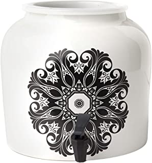New Wave Enviro Products Porcelain Water Dispenser, Boho