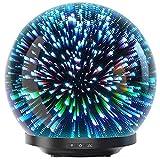 Aroma Diffuser 200ml Likemylux Luftbefeuchter Duftlampe Oil Düfte Humidifier LED mit 7 Farben für Yoga Salon Spa Wohn-, Schlaf-, Bade-, Kinderzimmer Hotel -