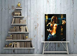 Fenfei Woman Argentine Tango Painting HD Canvas Print Home Decoration Wall Picture 50cm x75cm No Frame