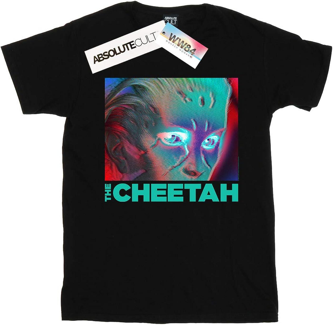 DC Comics Girls Wonder Woman 84 Cheetah Face T-Shirt