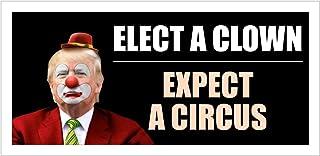 Best StickerPirate Car Magnet - Elect A Clown Expect A Circus Trump 2020 Trm319 Review