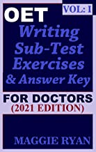 OET Writing (with 10 Sample Letters) for Doctors by Maggie Ryan: Updated OET Preparation Book: VOL. 1, 2021 Edition