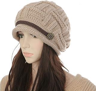 MAIPOETYRY Women Knit Snow Hat Winter Snowboarding Beanie Crochet Cap c8ffbf9f9ebe