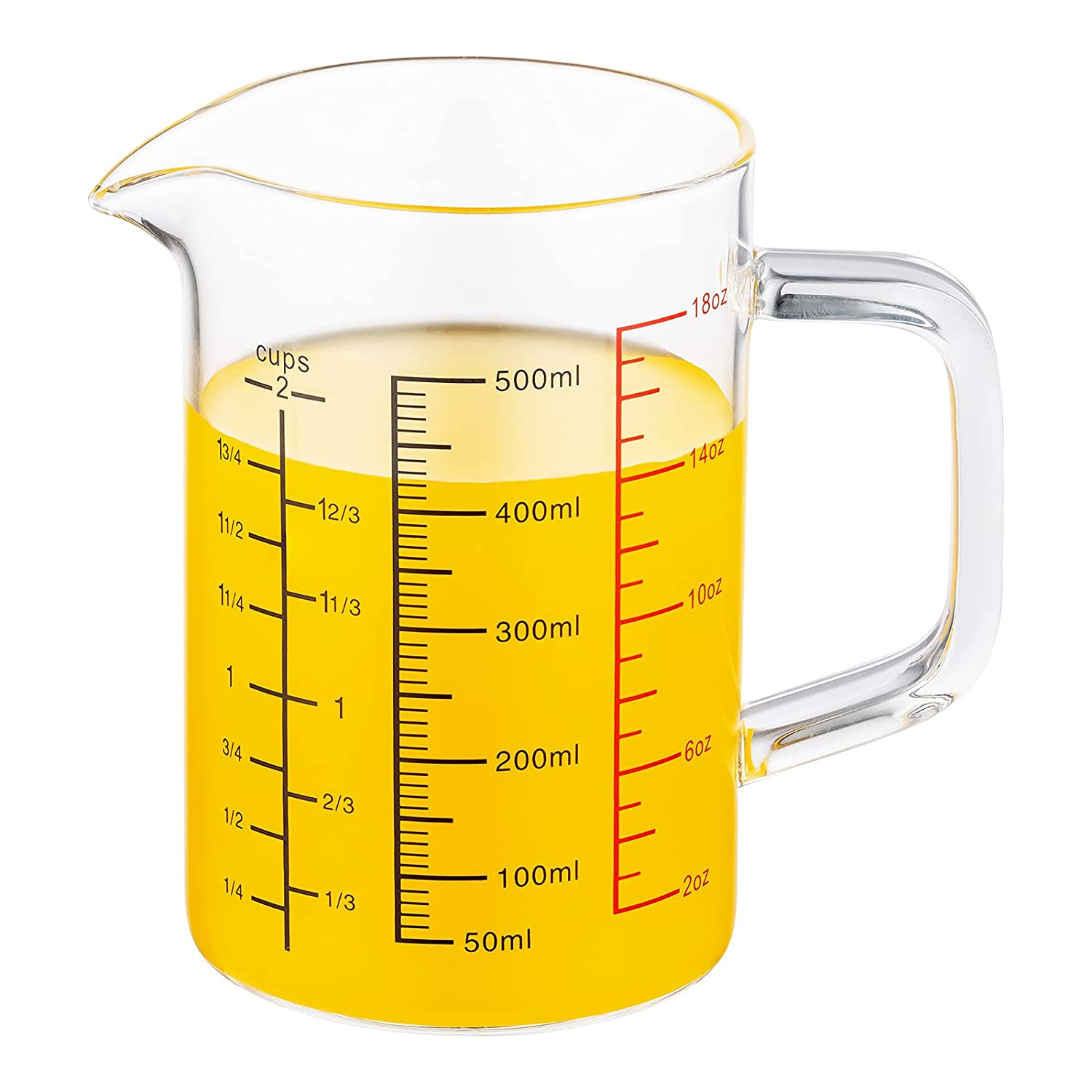 Buy 20200 ML 200.200 Liter, 20 Cup ,oz Glass Measuring Cup, Insulated ...