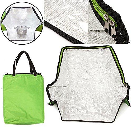 Grün Tragbares Solar Ofen Tasche Herd Sun Outdoor Camping Reise Notfall Werkzeug für Kochen Solar Ofen Tasche