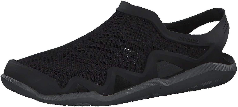 Outstanding Crocs Cheap mail order shopping Men's Swiftwater Mesh Shoe Sandals Water Wave