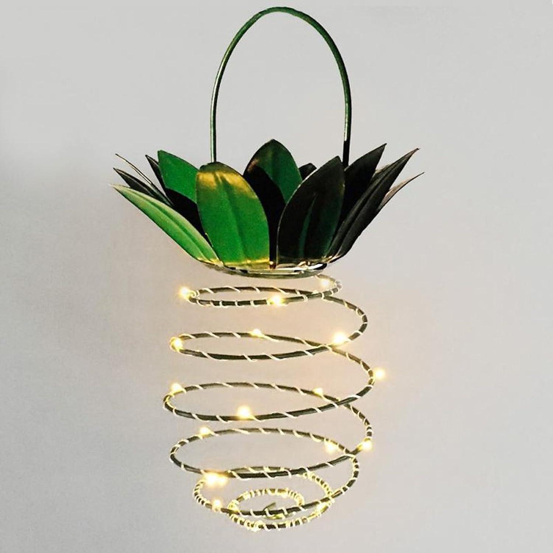 PINCHU 2 Stücke Garten Solar Lichter 20 LEDs Outdoor Decor Lichter Hngenden Lichterketten Wasserdichte Warme Fee String