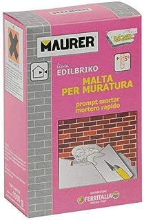 MAURER 14010322 Edil Mortero Rápido (Caja 5 kg.)