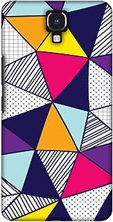 AMZER Handcrafted Designer Printed Slim Snap on Hard Case - Infinix Note 4 - Polygon Fun 3