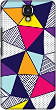 AMZER Handcrafted Designer Printed Slim Snap on Hard Case - Infinix Note 4 - Polygon Fun 3