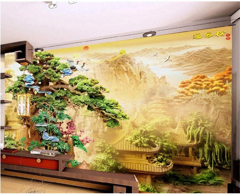 hasta un 70% de descuento Mural Fondo De Pantalla Personalizado Personalizado Personalizado 3D Pino Tallado En Madera Moderno Palacio Pintura De Parojo Dormitorio Sala De Estar No Tejido Mural 200x140cm  echa un vistazo a los más baratos