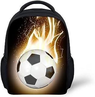 Fashion Soccer 3d Design 2018 Mini Backpack Boys Toddler Daypack kindergarten