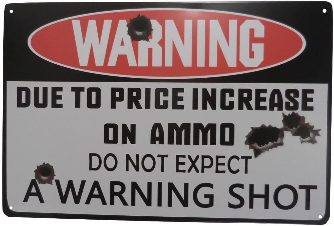 Strosportsandtech Warning Omaha Mall No Branded goods Trespassing Funny Sign Pub Tin Bar