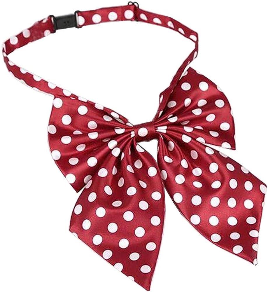 Women Uniform Bow Ties Ladies Shirt Bowties Adjustable Bow-knot Ties #14