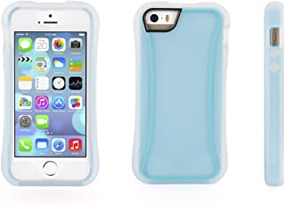 Griffin Cell Phone Case for iPhone 5/5s/5SE - Retail Packaging - Blue/Clear