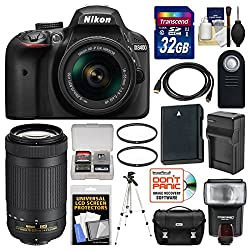 Click The Picture To Check Out This Nikon D3400 Bundle Now