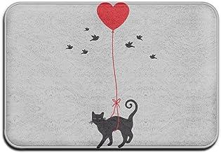 Funny Crazy Cat Lady Personalized Door Mats Monogram Doormat
