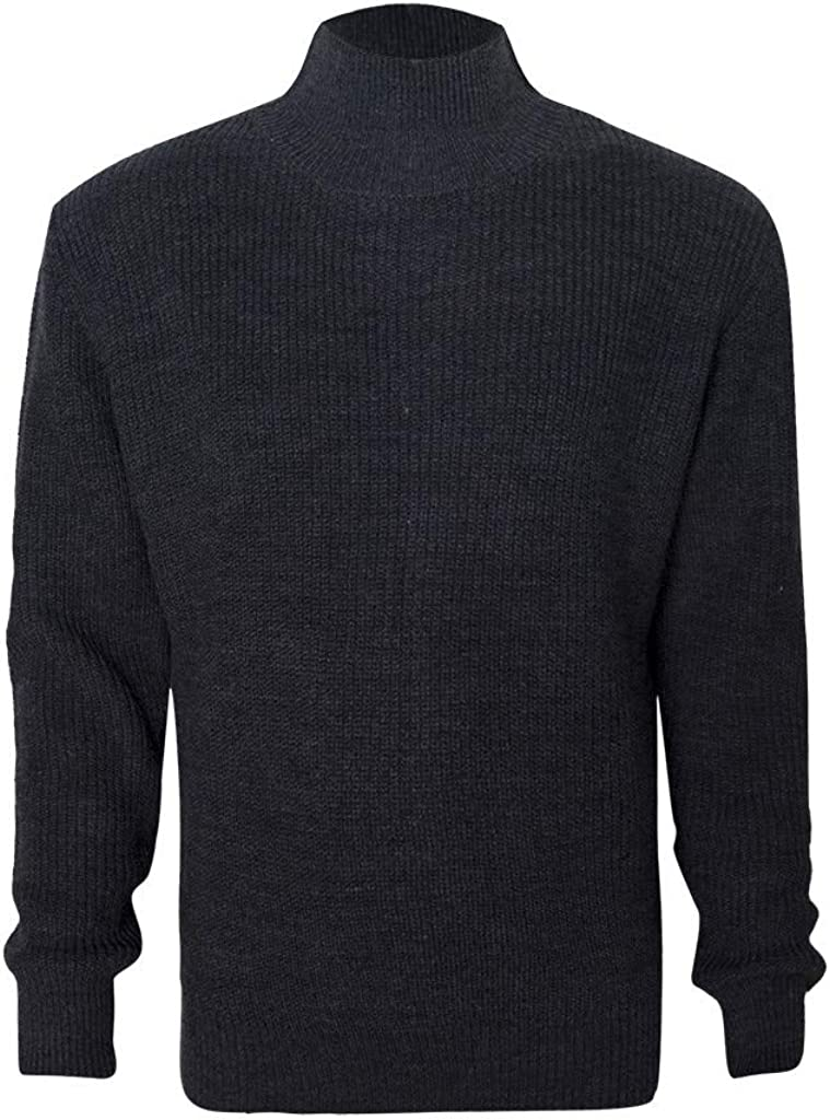 Wool Sweaters Men, NRUTUP Turtleneck Sweaters Pullover Sweater, Chunky Knit Fit Sweater, Winter Sweater Casual Work