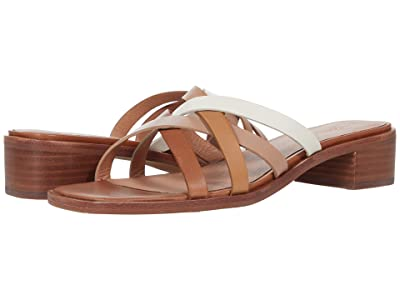 Madewell Jeni Mule in Color-Block Leather
