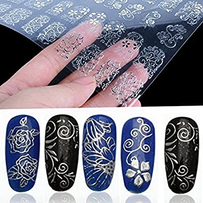 BeautyLife 108pcs 3D uñas