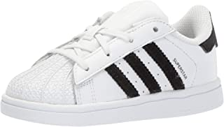 Junior's Superstar Sneaker, White/Core Black/Core White, 7
