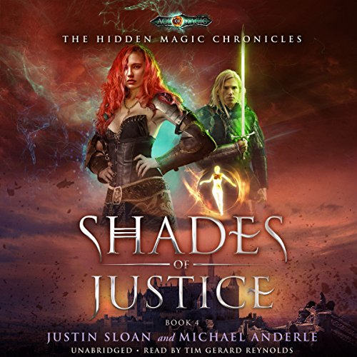 Shades of Justice     Age of Magic: The Hidden Magic Chronicles, Book 4              Autor:                                                                                                                                 Michael Anderle,                                                                                        Justin Sloan                               Sprecher:                                                                                                                                 Tim Gerard Reynolds                      Spieldauer: 5 Std. und 34 Min.     Noch nicht bewertet     Gesamt 0,0
