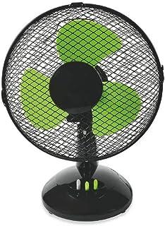 Kooper - Ventilador de aire, negro y verde
