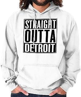 91a21e044 Classic Teaze Straight Outta Detroit, MI City Movie Gift Hoodie Sweatshirt