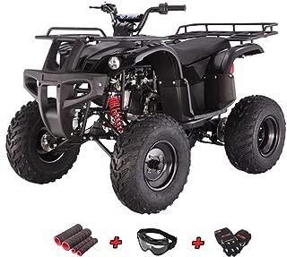 X-Pro 150cc ATV Quad Utility Full Size ATVs Quads 150cc 4 Wheeler Adult ATV with Gloves, Goggle and Handgrip