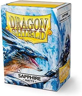 Arcane Tinman Sleeves: Dragon Shield Matte Sapphire (100), One Size