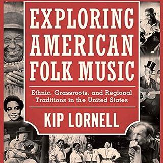 Exploring American Folk Music audiobook cover art