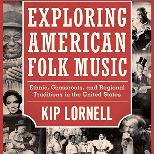 Exploring American Folk Music audiobook cover art