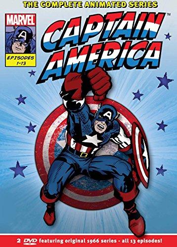 Captain America Complete 1966 Series (2 Dvd) [Edizione: Regno Unito] [Edizione: Regno Unito]