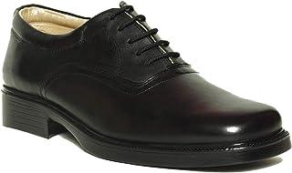 Liberty Shoes Black Oxford & Wingtip For Men