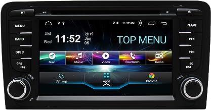 Autoradio stereo per auto android 10.0 compatibile con lettore dvd audi a3 da 7