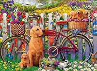 大人のための1000ピースの木製パズル、パズル、犬、誕生日プレゼント、ハロウィンギフト、クリスマスプレゼント、装飾(00006)