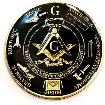 3 Diameter The Masonic Exchange TME-EMB-00016 32nd Degree Scottish Rite Round Blue Masonic Auto Emblem