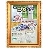 ナカバヤシ 賞状額縁 金ケシ(樹脂製) JIS B5判 フ-KWP-31 N