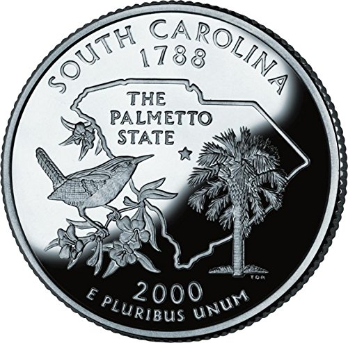2000 South Carolina – D State Quarter Roll