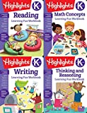Highlights Kindergarten Learning Workbook Pack (Highlights Learning Fun Workbooks)
