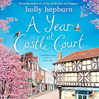 A Year at Castle Court audiobook cover art