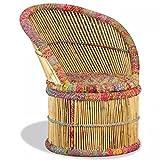 Roderick Irving Butaca de Bambú con Detalles Chindi, Sillon Relax
