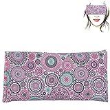 Almohada para los ojos 'Mandalas Lila' | Semillas de Lavanda y arroz | Yoga, Meditación, Relajación, descanso de ojos...