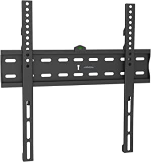 CHARMOUNT TV Wall Bracket 32 to 55 Inch,Fixed TV Wall Mount,with Low Profile Design for Most OLED,LED,LCD,4K Flat Screen TVs-Ultra Slim Fix Mount with Max VESA 400x400mm and 99lbs Loading Capacity