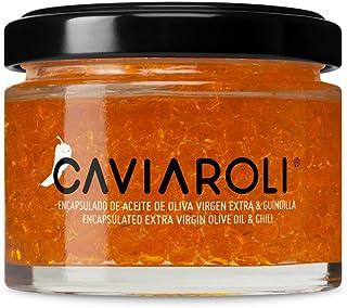 Caviaroli Encapsulado de Aceite de Oliva Virgen Extra y Guindilla - 50 gr