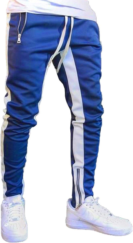 Happy Sailed Fashion Mens Athletic Jogger Casual Track Pants Sweatpants Cheap bargain