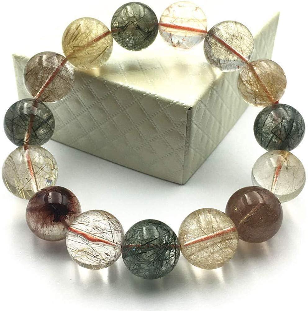 Xuyang Real Natural Copper wholesale Rose Max 77% OFF Gem Gold Crystal Bracelet Quartz