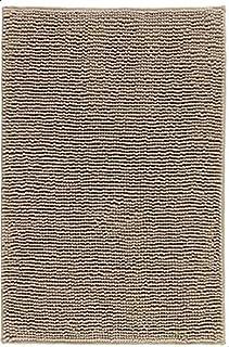 Bath Mat, Beige-white melange, 50x80 cm