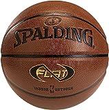 SPALDING - NBA NEVERFLAT IN/OUT SZ.7 (74-096Z) - Ballons de basket NBA - Touché et Contrôle améliorés - Matière Durable - orange